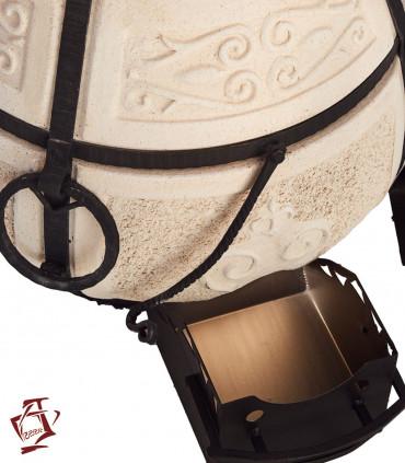 Amphora / Amfora Tandoor Aschekasten