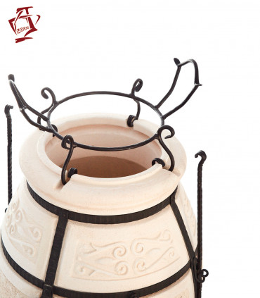 Amphora / Amfora Tandoor Topfaufsatz für Wok, Kazan, Pfanne