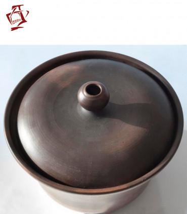 Amphora / Amfora Tandoor Keramik-Schmortopf 3L mit Deckel