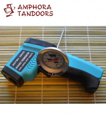 Amphora Tandoor Grill Thermometer Set
