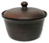 Keramik-Schmortopf, 3 l, mit Deckel